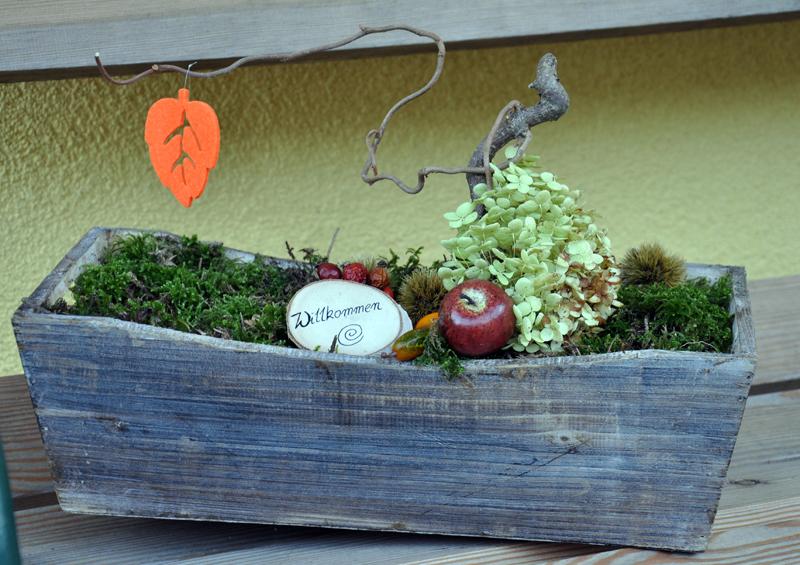 Herbst Deko Für Den Eingangsbereich